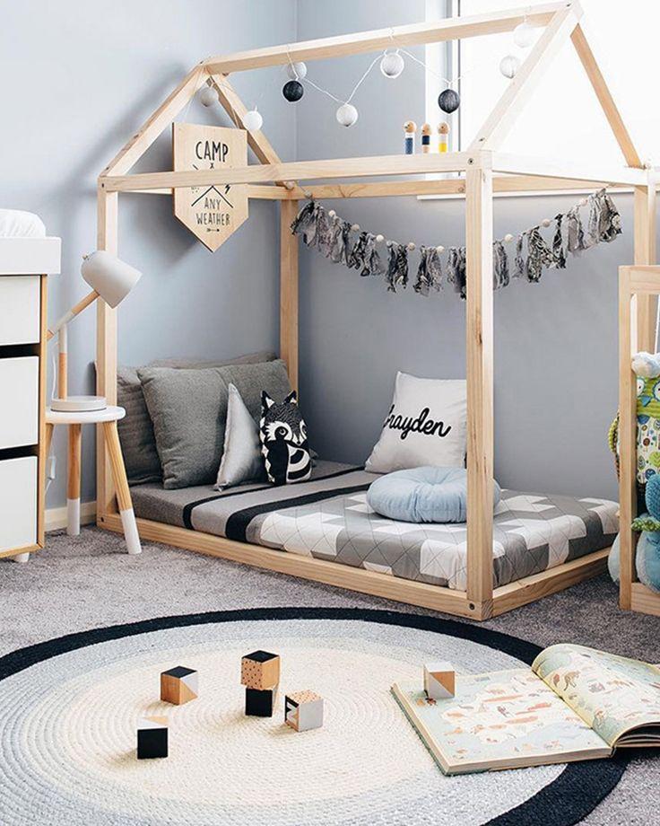 montessori bedroom - habitacion infantil - dormitorio montessori - floor carpet