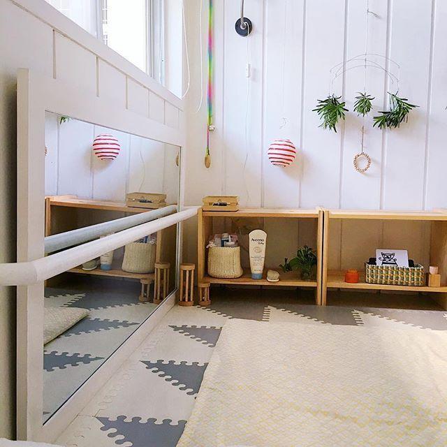 montessori bedroom - habitacion infantil - dormitorio montessori - mirror - espejo