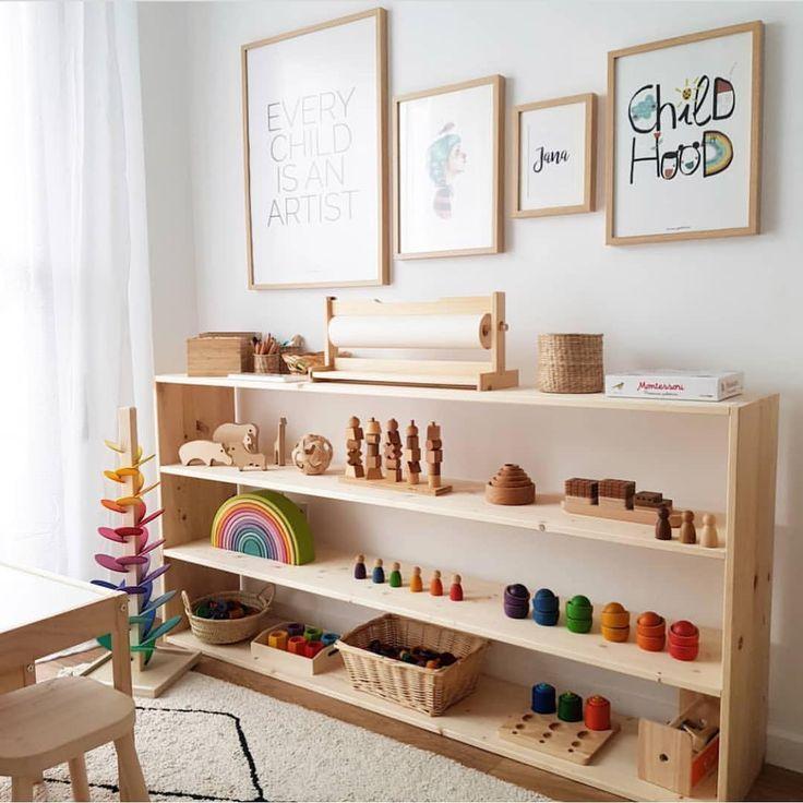 montessori bedroom - habitacion infantil - dormitorio montessori - orden