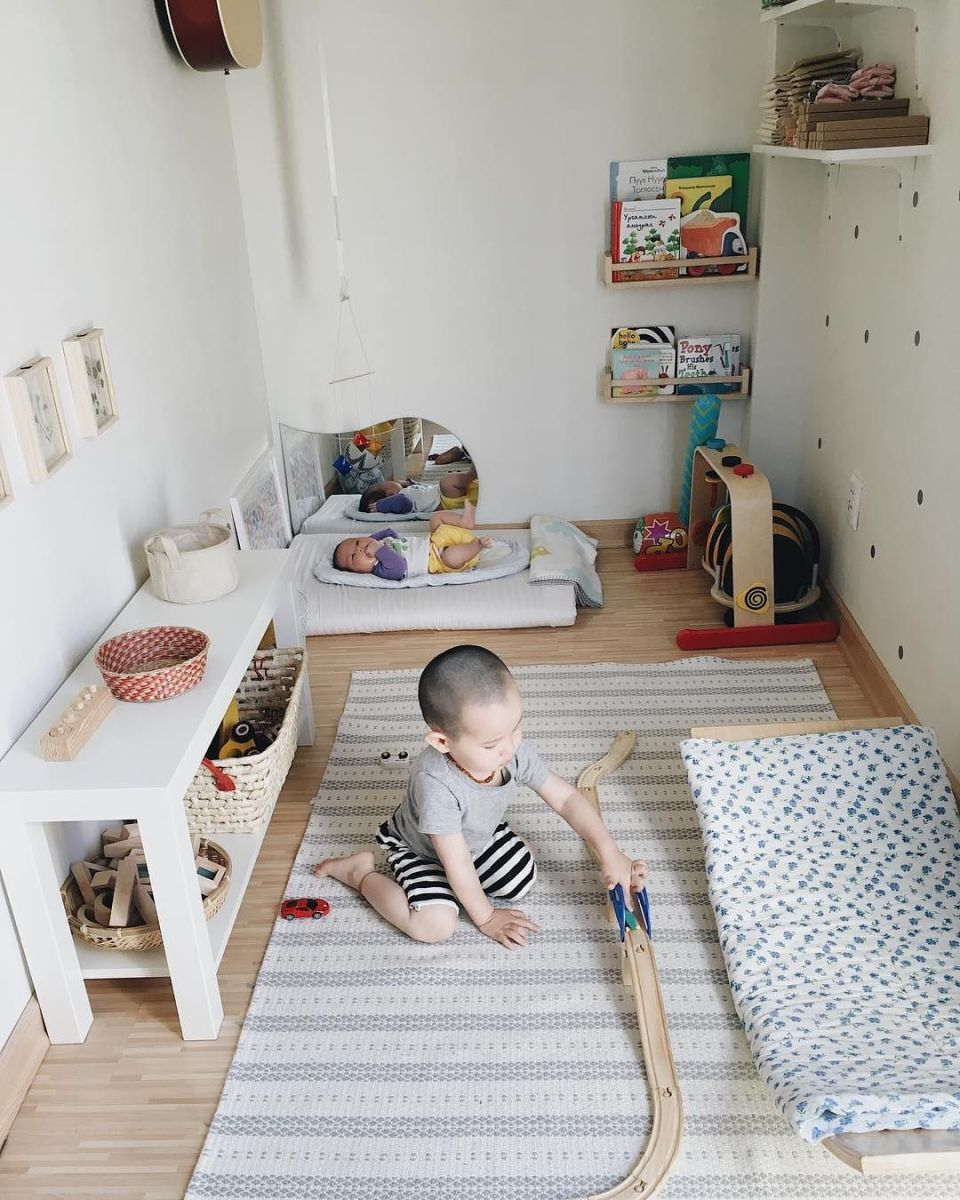 montessori bedroom - habitacion infantil - organizacion - dormitorio montessori - clean