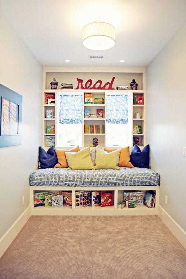 Ideas para crear un rincon de lectura Montessori infantil 2