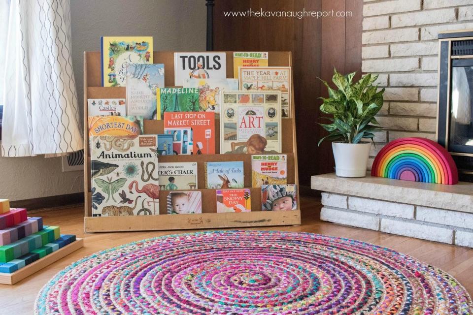 Ideas para crear un rincon de lectura Montessori infantil.jpg