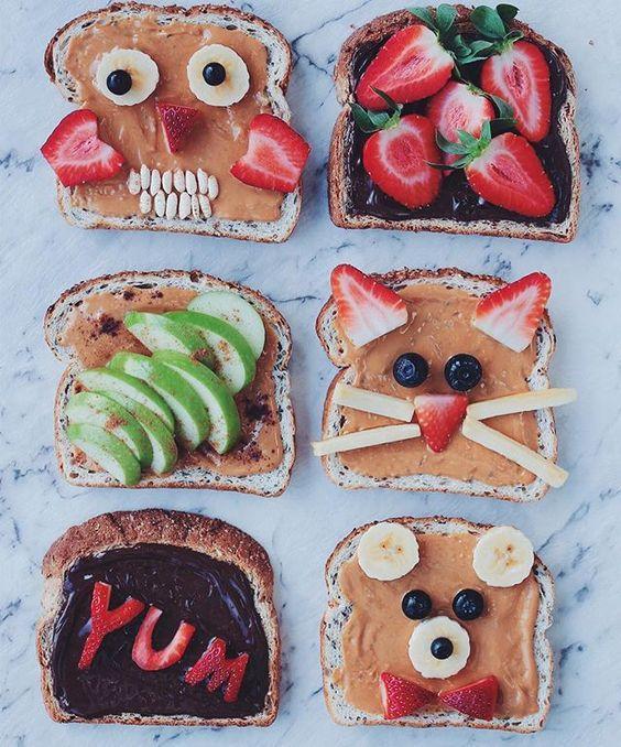 ideas de desayuno saludable para niños 4