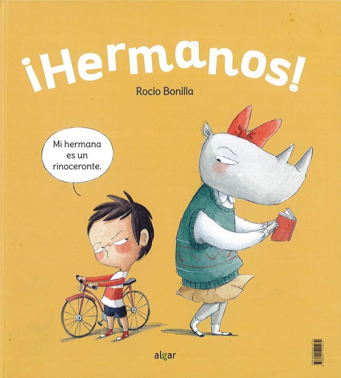 Recomendaciones cuentos infantiles Sant Jordi - Rocio Bonilla - Hermanos