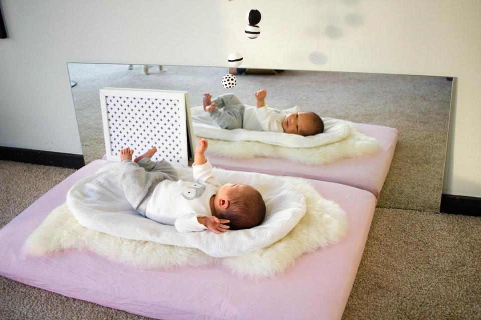 montessori nursery room - habitacion bebe montessori 22
