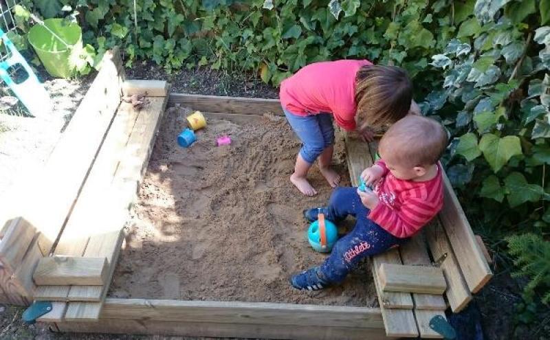 Actividades Sensoriales para Niños en Casa - Arenero Sandbox