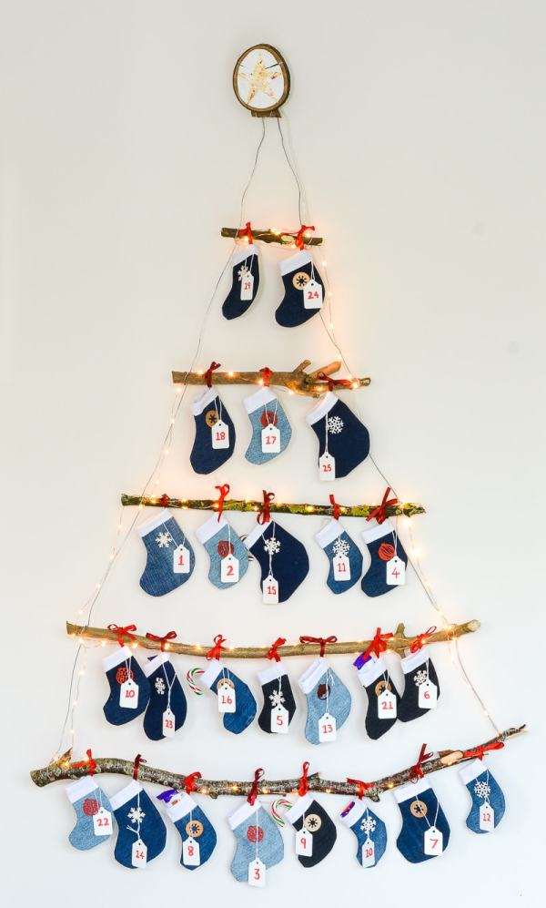 Calendario Adviento Navidad DIY - Christmas Advent Calendar Homemade 7