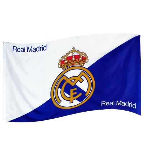 Real Madrid F C Flag Sk Monster Sports