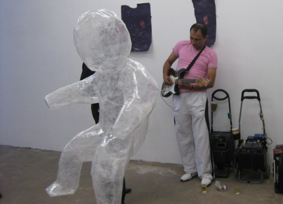 Mark Jenkins purple splendor guitar