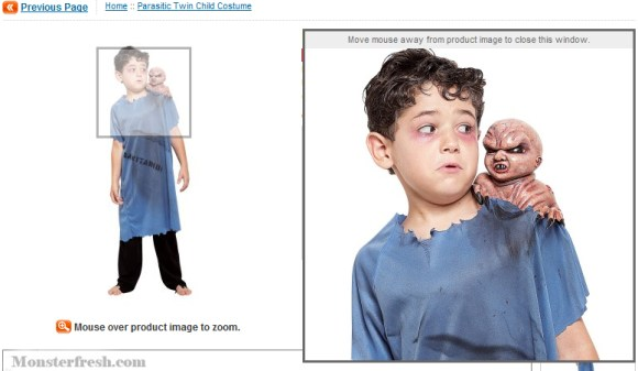 Parasitic-Twin-Child-Costume