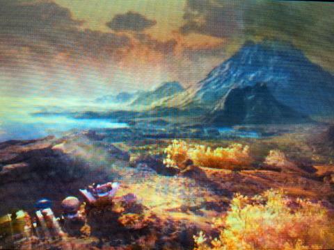 火山へ出発