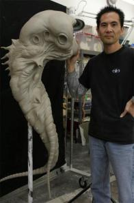 Alienbodysculpture