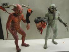 The Dismemberment Goblins on set.
