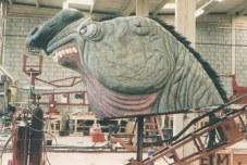 Dudman Studios' full-size head.