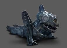 Baby Kaiju concept art by Francisco Ruiz Velasco.