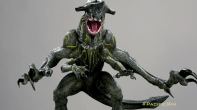 Maquette of Knifehead, sculpted by Simon Lee and painted by Casey Love.