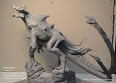 Unpainted maquette of Slattern.
