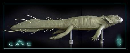 Salamander sculpt by Dan Platt.