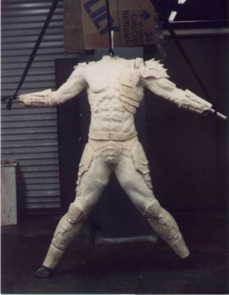 Unpainted body.