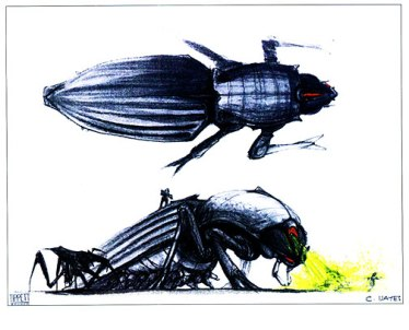 Tanker Bug concept art by Craig Hayes.