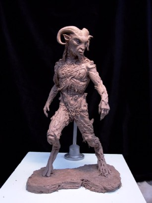 An early Faun maquette.
