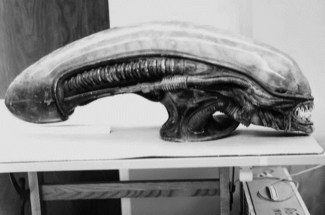 Various Alien heads.
