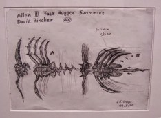 Giger's unused designs for Alien³.