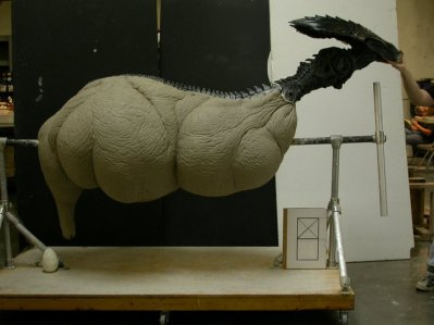 Egg sac sculpture.
