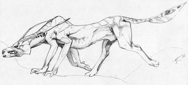 Viperwolf concept by James Cameron.