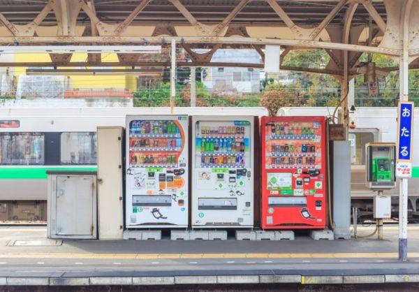 usaha makanan dengan vending machine