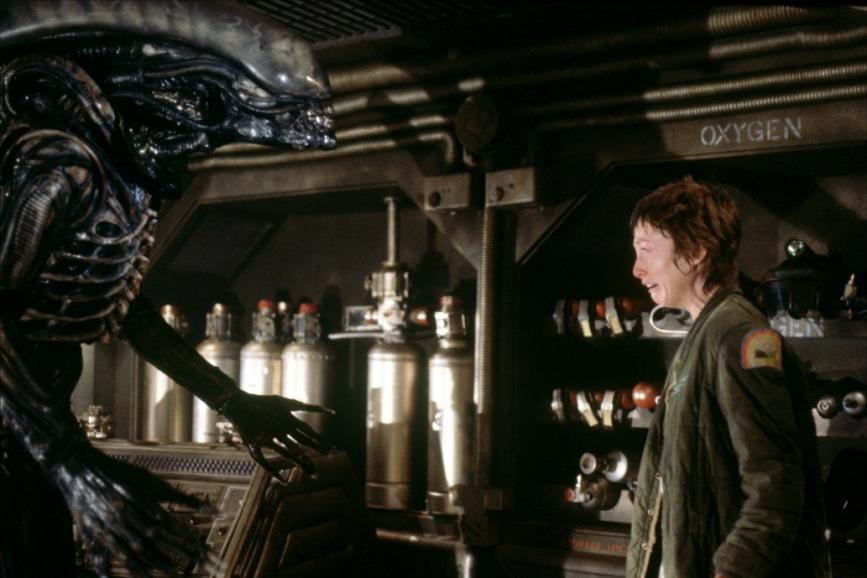 Alien Lambert contro Xenomorfo