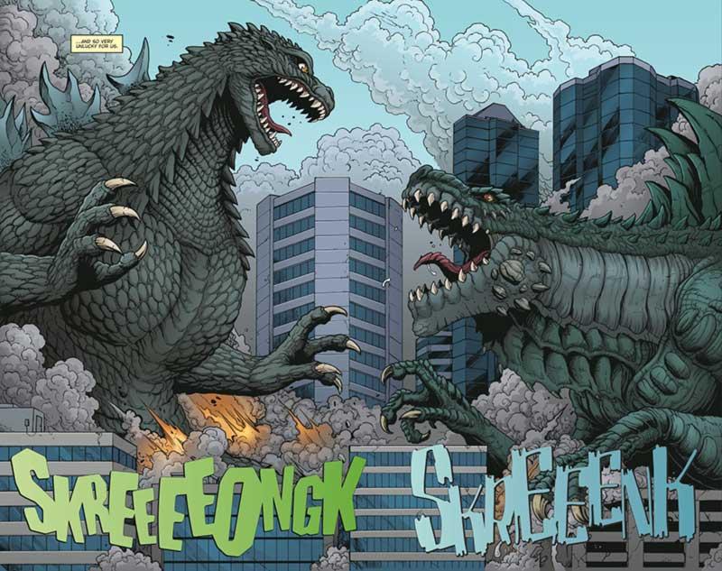 Godzilla vs Zilla comics