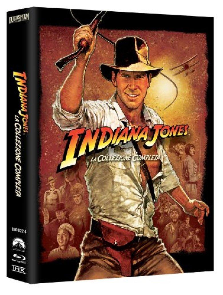 Cofanetto Indiana Jones su Amazon