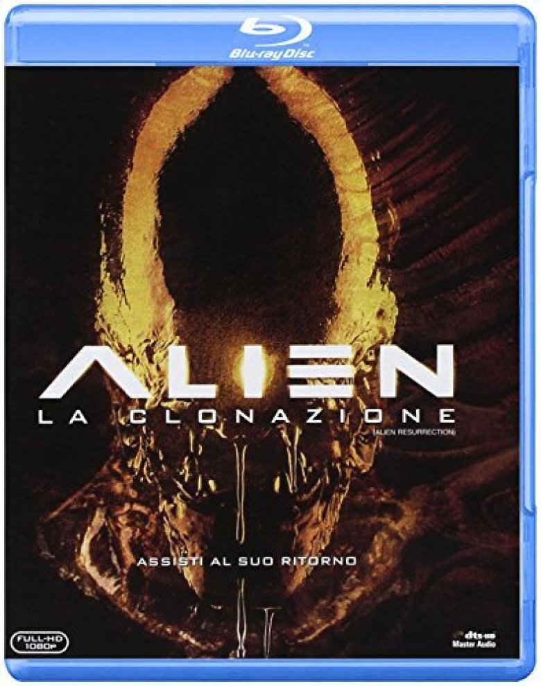 Alien Resurrection Blu-ray su Amazon