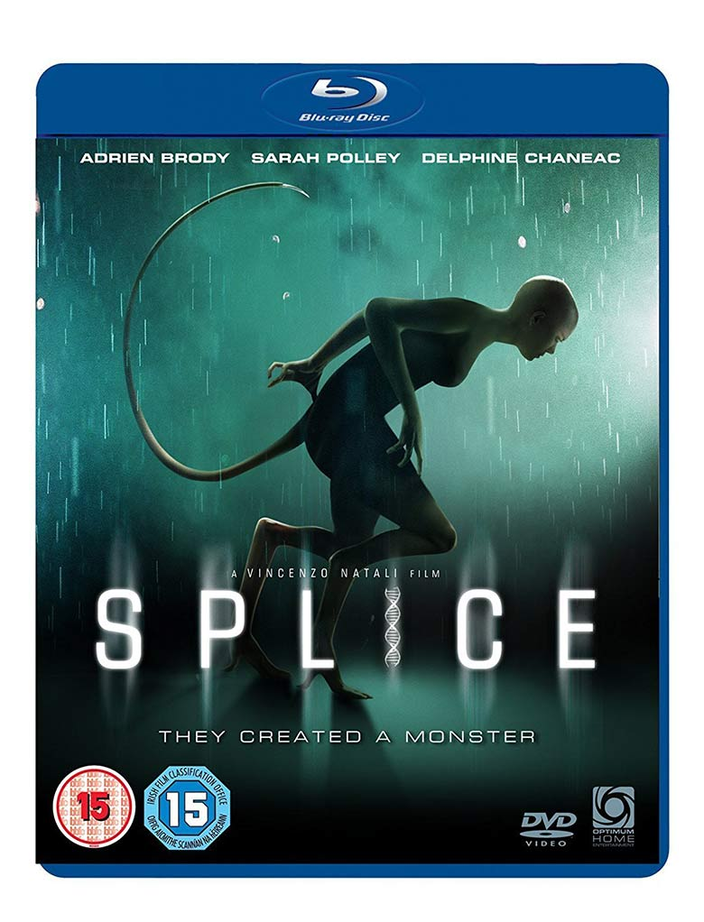 Splice Blu-ray su Amazon