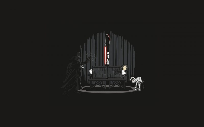Darth Vader funny fan art