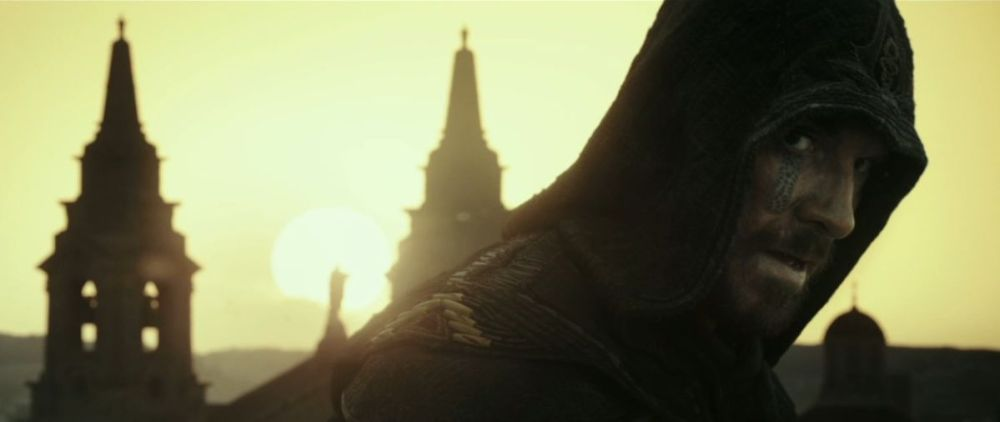 Aguilar nel film Assassin's Creed