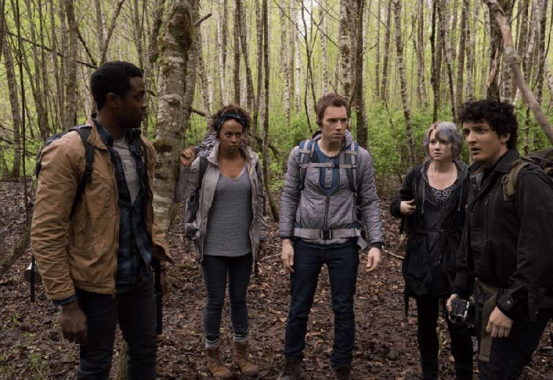 Cast protagonisti di Blair Witch