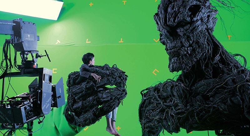 Monster Calls green screen