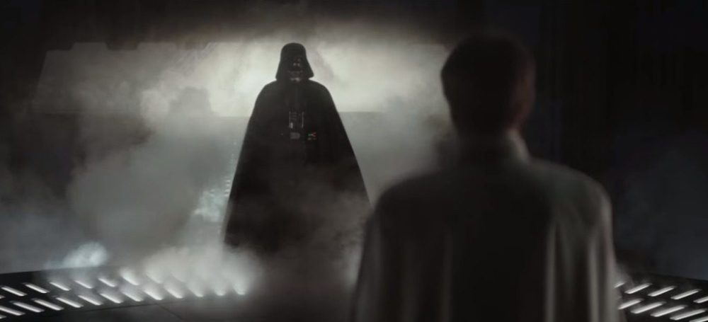 Ingresso di Darth Vader in Rogue One