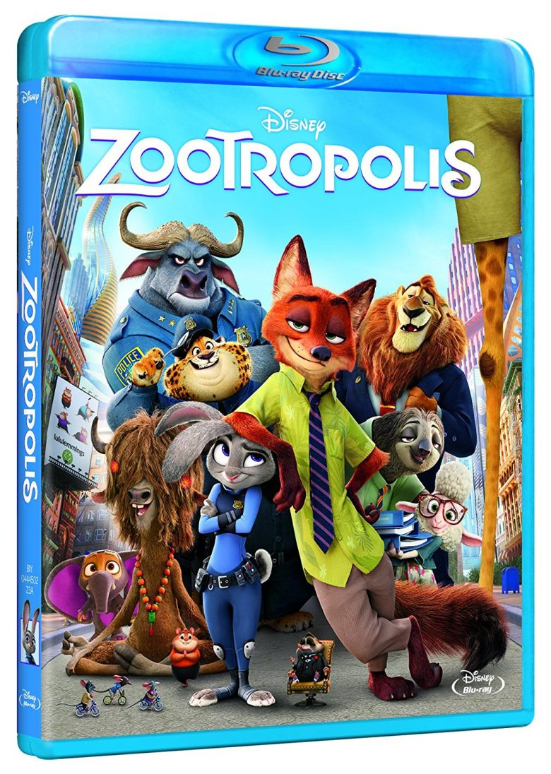 Zootopia Blu-ray Disney Amazon