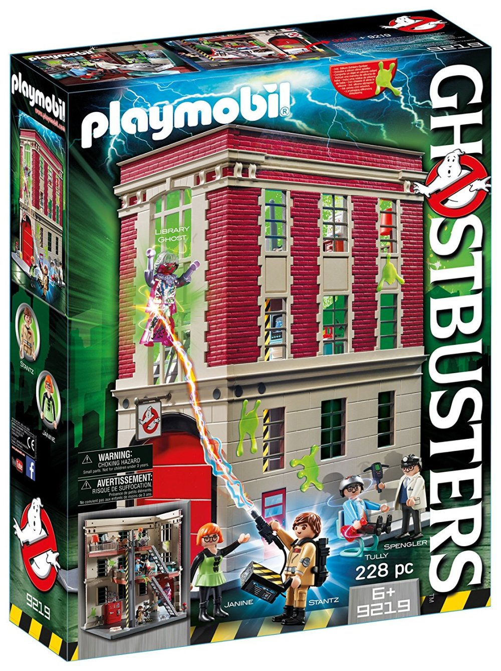 caserma ghostbusters amazon playmobil compra hot