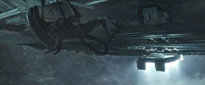 Protomorph scena nave Alien Covenant