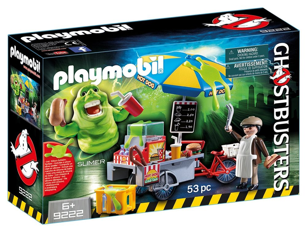 slimer hot dog ghostbusters playmobil amazon buy