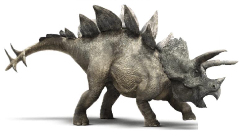 Stegoceratops Jurassic World ibrido