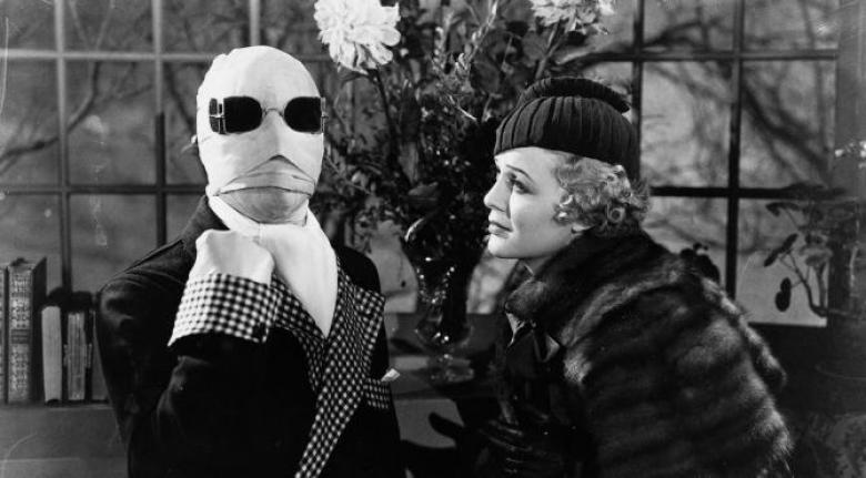 Uomo invisibile Claude Rains