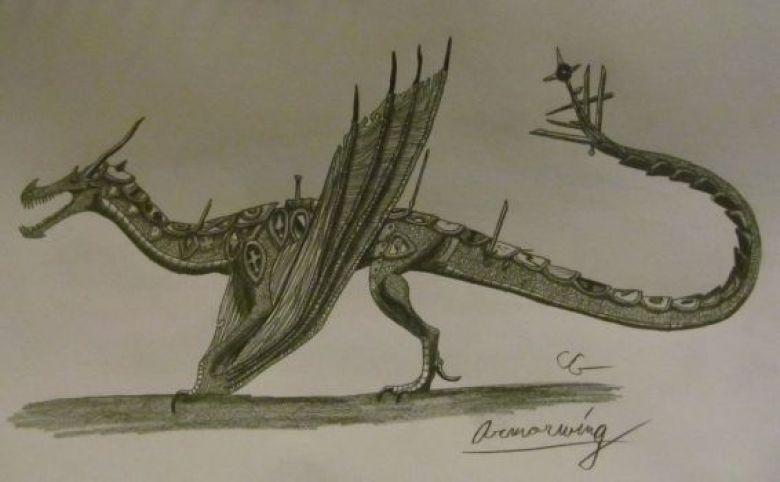 Armorwing Ala Corazzata Dragon Trainer
