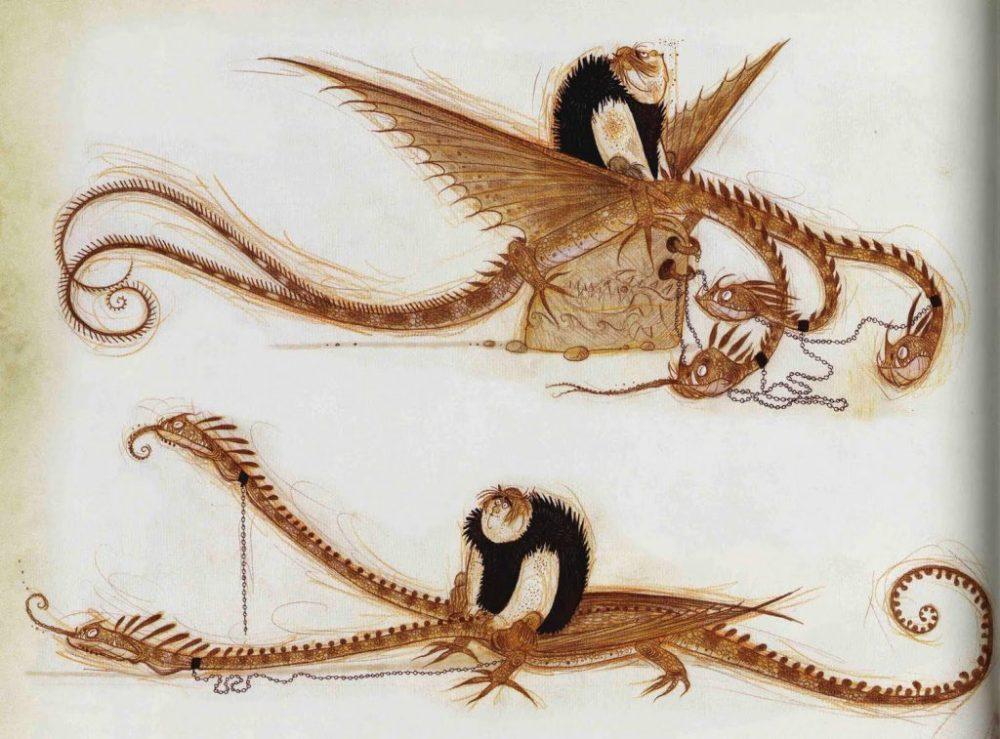 Hideous Zippleback Dragon Trainer Bestiario