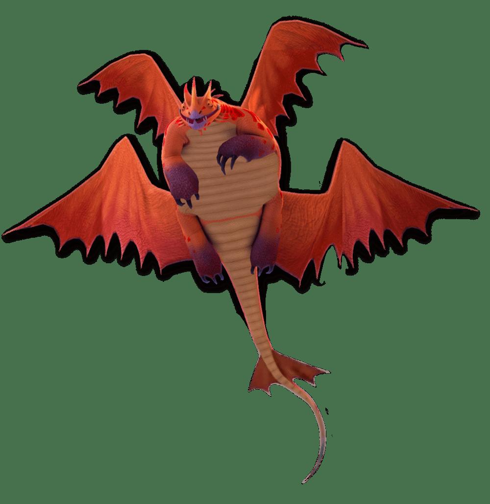 Singetail Dragon Trainer Bestiario