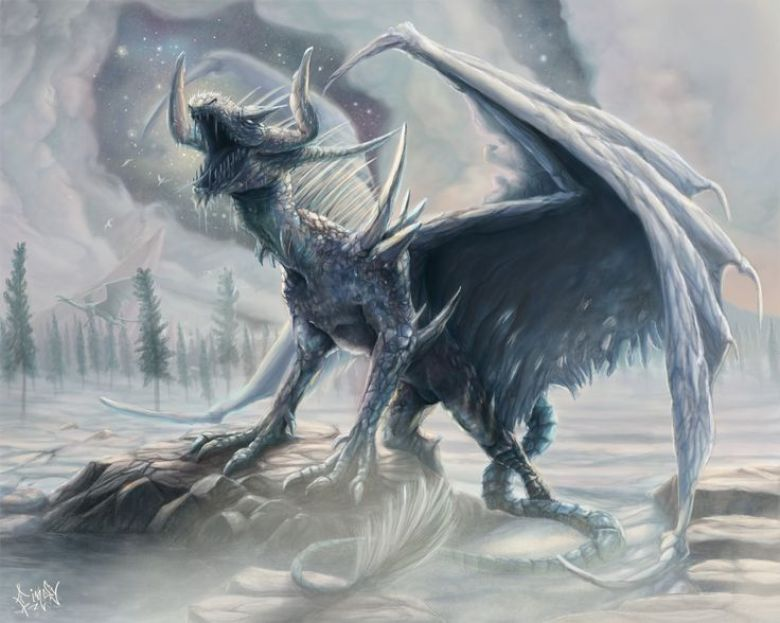 481fa95dc3788e04f2fa36dc7550d888--ice-dragon-dragon-art